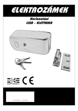 Elektrozamek CISA\374