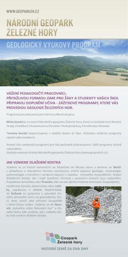 Geologický výukový program