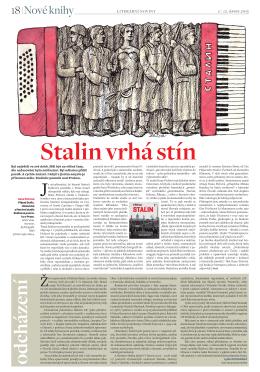mat/, Stalin vrhá stín, Literární noviny 2, 12. února 2015