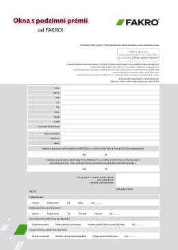 Přihlašovací formulář
