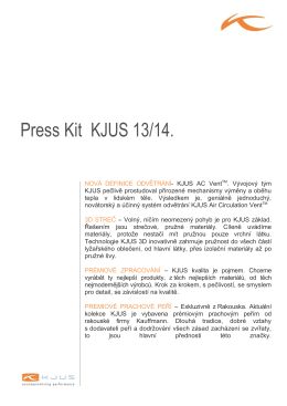 Press Kit KJUS 13/14.