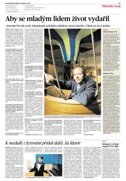 článek ke stažení - Salesiánské středisko mládeže Plzeň