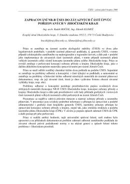 boček r., klimeš z. - Portál ÚSES - Územní systém ekologické stability