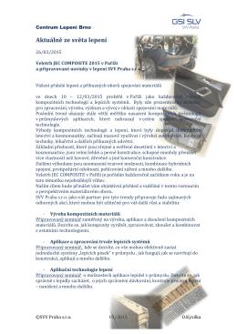 Veletrh JEC COMPOSITE 2015 Paris a