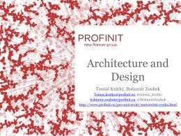 Architektura / design