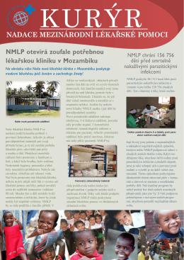 """""""Kurýr"""" 5 - Nadace mezinárodní lékařské pomoci"""