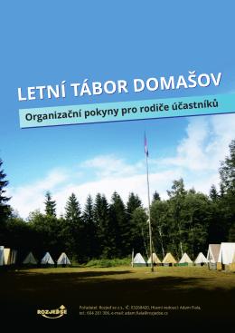 letní tábor domašov letní tábor domašov
