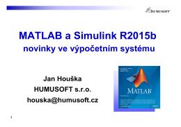 MATLAB a Simulink R2015b