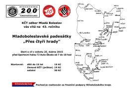 """Mladoboleslavské padesátky """"Přes čtyři hrady"""""""