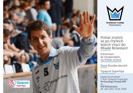Pohár mistrů se po čtyřech letech vrací do Mladé Boleslavi!