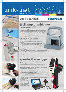 REINER jetStamp / iMarker / iJet