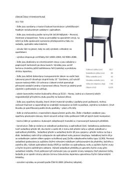 Specifikace KD Klobouky u Brna-doplněno