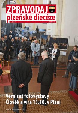 Vernisáž fotovýstavy Člověk a víra 13.10. v Plzni