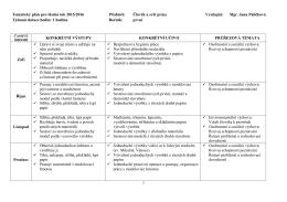 Člověk a svět práce - Základní škola Vidnava