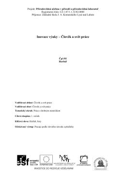 Čp 1_01 Herbář