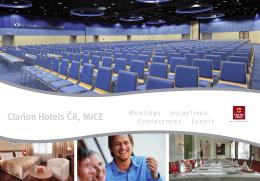 Ke stažení PDF - Clarion Hotels