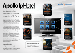 IP hotel 3 - Apollo Multimedia sro