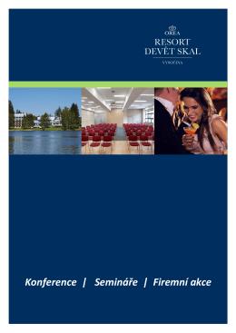 Konference | Semináře | Firemní akce