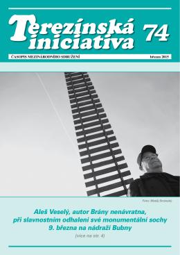 Časopis Terezínská iniciativa č. 74 - leden 2015