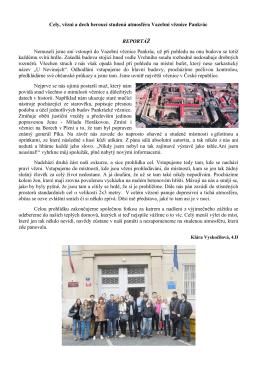 Exkurze Vazební věznice Pankrác
