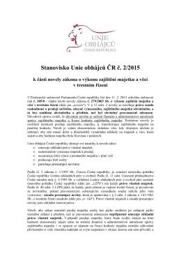 UO_stanovisko_novela ZoVZM_7 - Unie obhájců České republiky