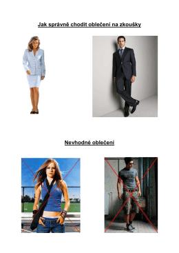 01Jak správně chodit oblečení na zkouık1