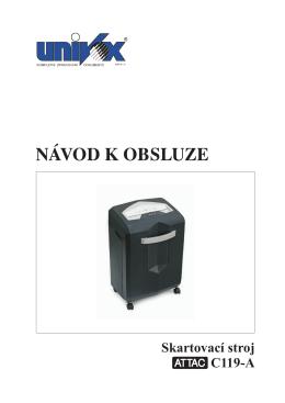 Navod_skartovacka_ATTAC_C119A