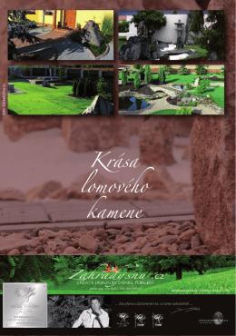 Kámen v zahradě nemusí být nedostižným luxusem