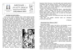 Michael - Svatý Duch č.85 - vánoce 2015