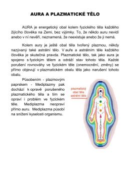 Aura a plazmatické tělo - pdf (Acrobat Reader) - lecitel