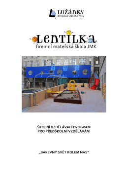 Projekt MŠ Lentilka 2015