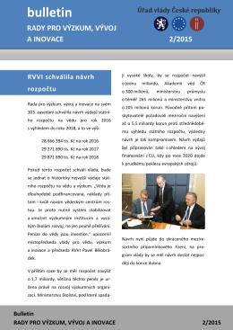 Bulletin RVVI 2/2015 - bulletin_RVVI_