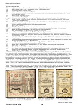 Papírové peníze - Filatelie Klim