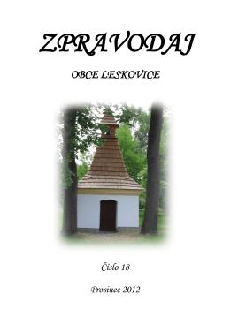 otevřít - Obec Leskovice