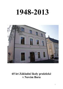 almanachu - Základní škola praktická Nový bor
