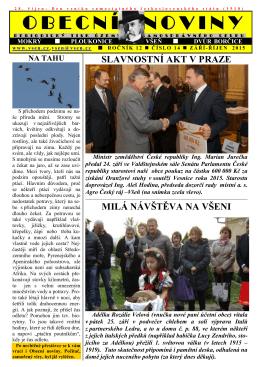 Obecní noviny č. 14-2015