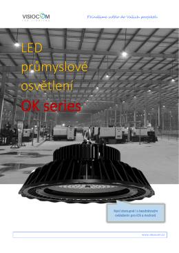 LED průmyslové osvětlení OK-series