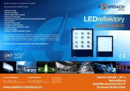 LED reflektor ALS-12
