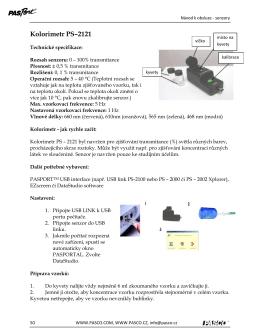 Kolorimetr PS–2121