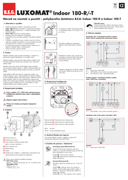 LUXOMAT® Indoor 180-R/-T