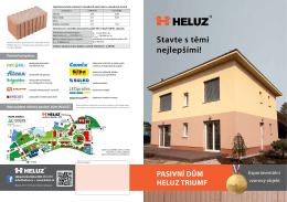 Pasivní dům HELUZ TRIUMF