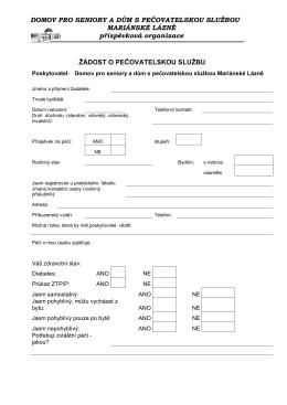 Stáhnout ve formátu PDF - Domov pro seniory a dům s