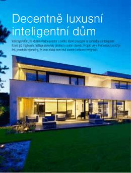 Pěkné bydlení – Decentně luxusní inteligentní dům
