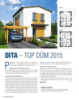 DITA – TOP DŮM 2015