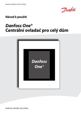 Danfoss One® Centrální ovladač pro celý dům