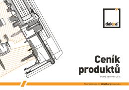 Dakea - ceník produktů