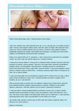 Zpravodaj č. 3/2015 - Dobrovolnické centrum Kladno, zs