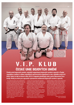 V. I . P. K L U B - Česká unie bojových umění