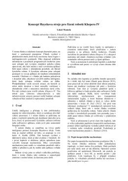 Vzor formatu prispevku CZ