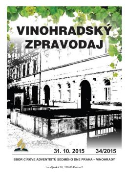 31.10.2015 - Stránky sboru CASD Praha